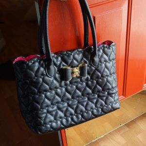 Betsey Johnson Black bag/purse